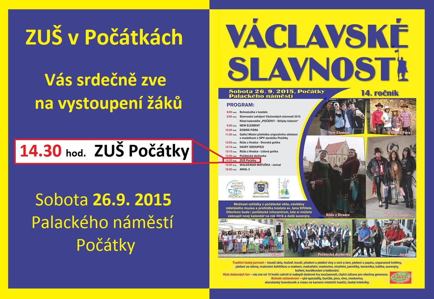 26.9.2015 - Václavské slavnosti