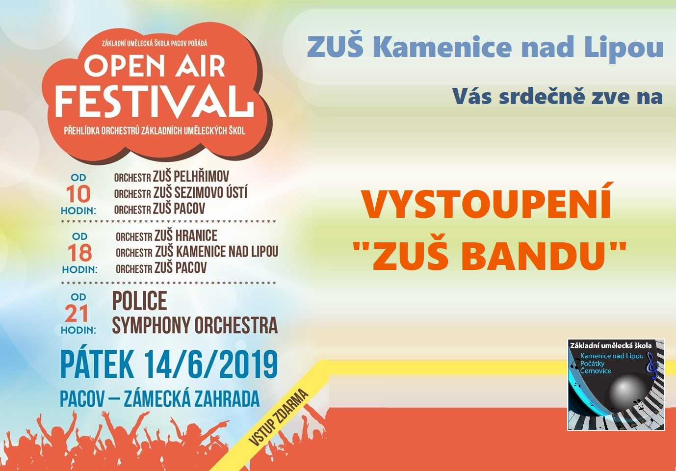 14. 6. 2019 - OPEN AIR FESTIVAL PACOV