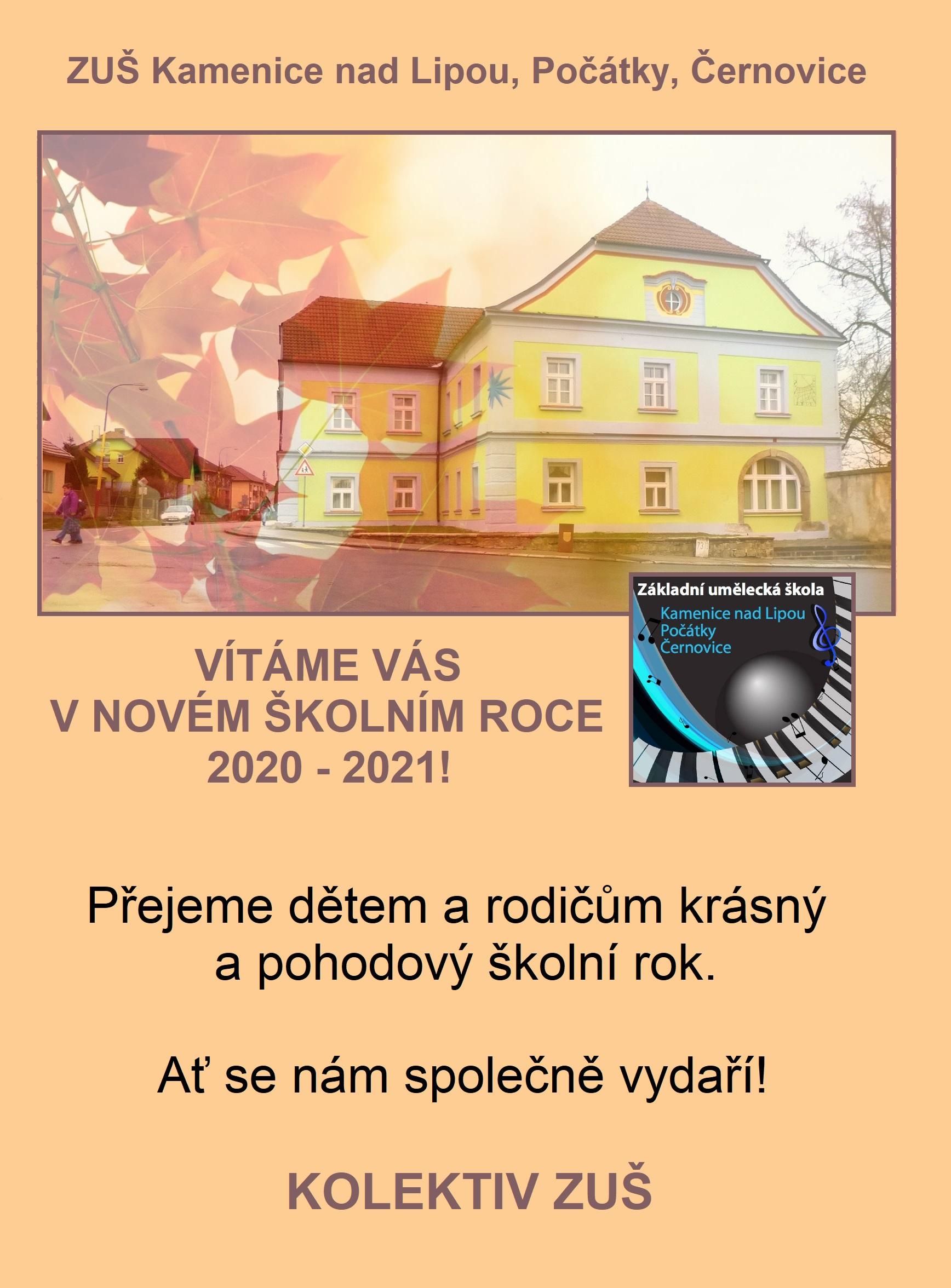 ŠKOLNÍ ROK 2020 - 2021